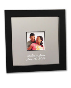 Small Signature Frame Guest Book - I Do Engravables