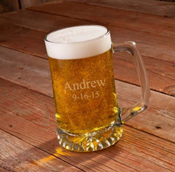 Personalized 25 oz. Sports Mug - I Do Engravables