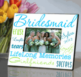 Bridesmaid Frame Blue