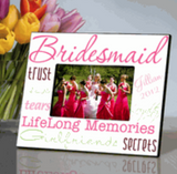Bridesmaid Frame Pink