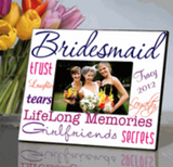 Bridesmaid Frame Purple