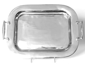 Rectangular Signature Platter with Handles