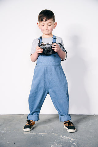 Stow [unisex kids dungarees]