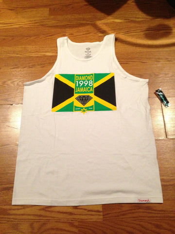 Diamond Supply Co. Jamaica World Tour Tank
