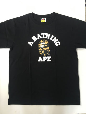 A Bathing Ape Camo Head Tee