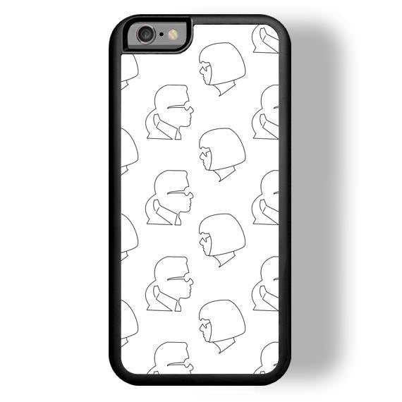 Besties Print iPhone Case