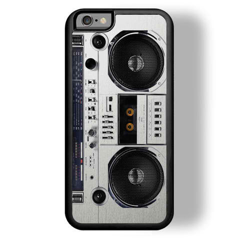 Zero Gravity Boombox iPhone Case