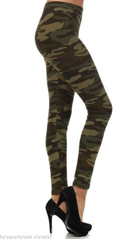 Womens Leggings Camo
