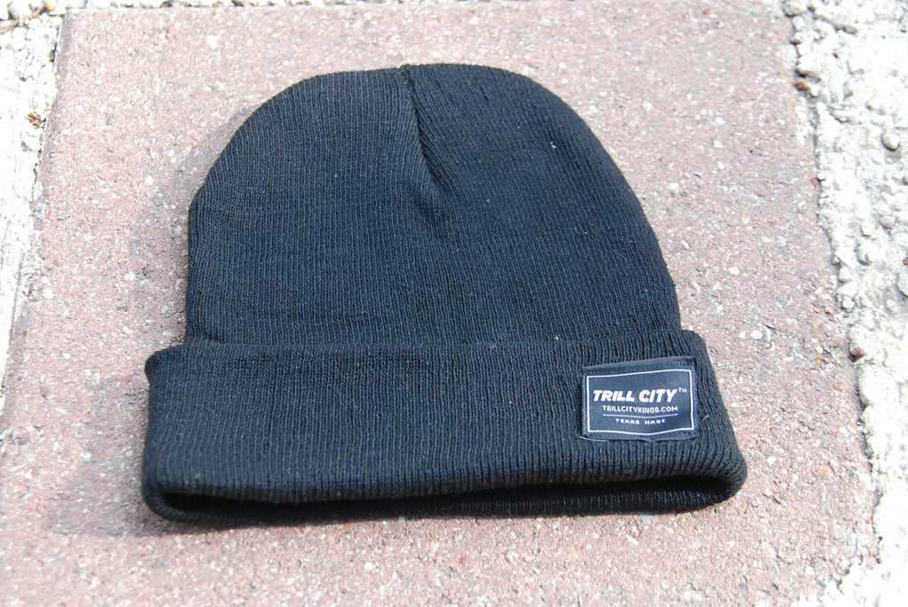 Trill City Kings Black Beanie