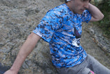 Imperial Blue Digital Camo Right Sleeve