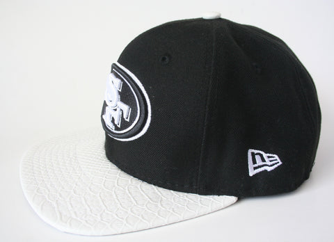 9Fifty Snapback Black/White San Francisco 49ers NFL