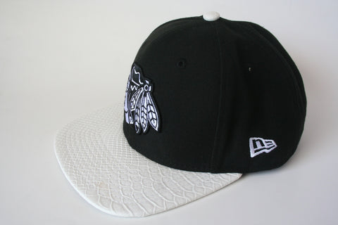 9Fifty Snapback Black/White Chicago Blackhawks NHL