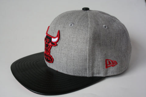 9Fifty Snapback Grey/Black Chicago Bulls NBA