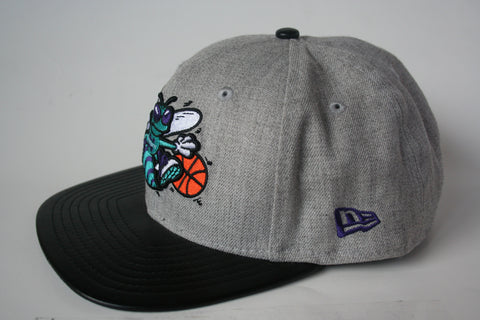 9Fifty Snapback Grey/Black Charlotte Hornets NBA