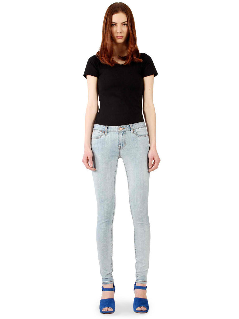 Washout Skinny Jeans Front