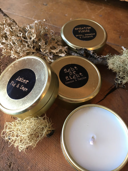 Wearable Candle, Petite Tin