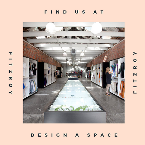 photo of the inside of the Design A Space Fitzroy store