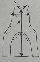 Tilly dress measurement guide
