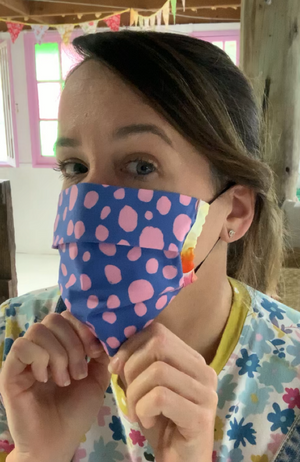 Fabric Face Mask - 2 layer