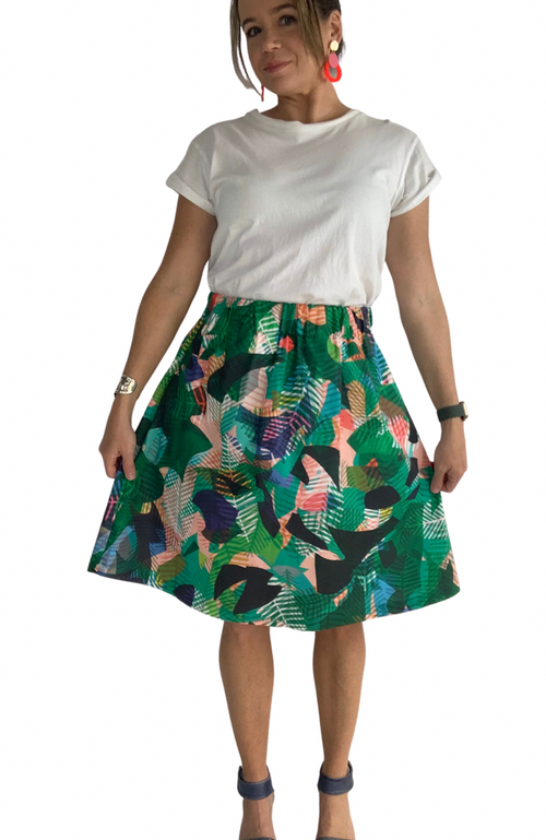 Eden skirt in Jungle