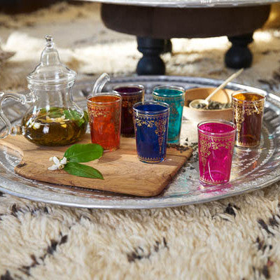 Moroccan Tea Glasses & Teapots