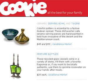Cookie Magazine Website