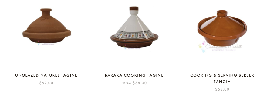 Best Selling Tagines