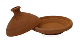Unglazed Naturel Tagine