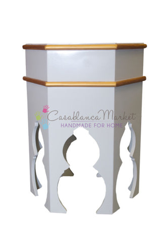 Taza Hand-painted Side Table