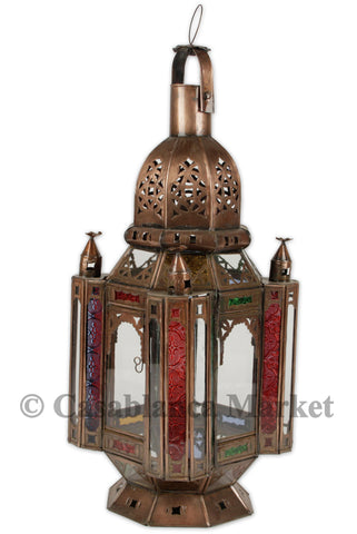 Antique Marrakech Hanging Lantern