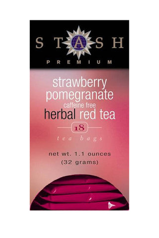 Strawberry Pomegranate Herbal Red Tea