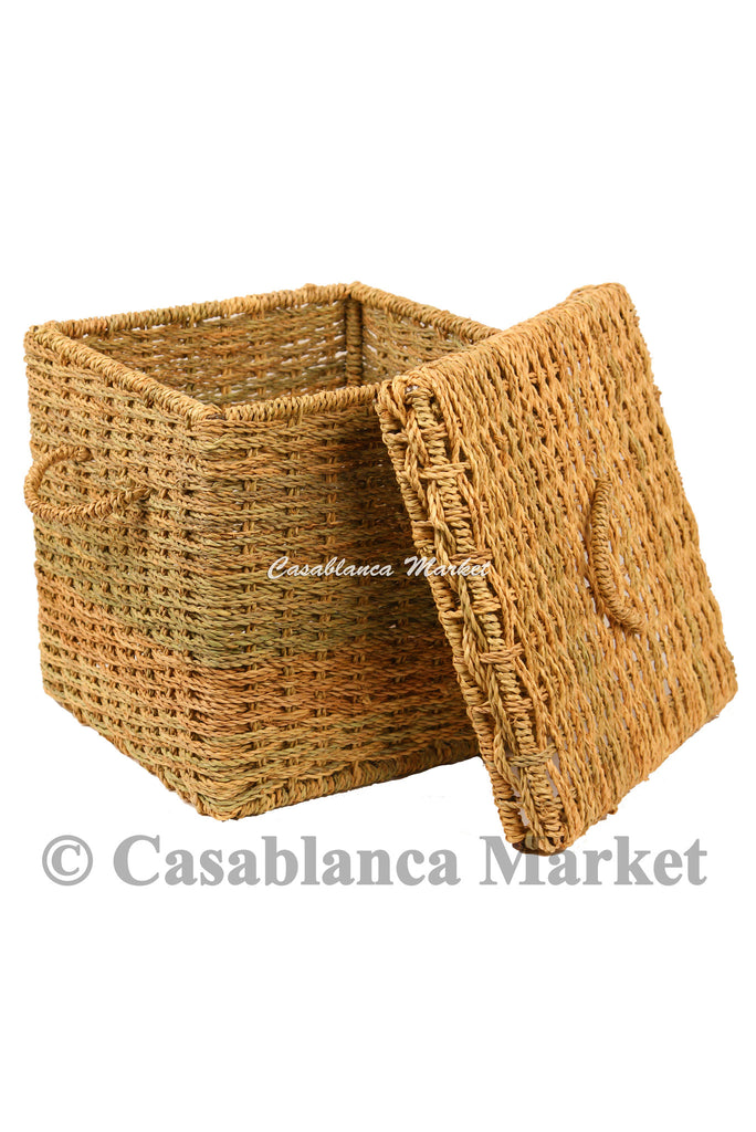 Hand-woven Storage Basket, Large