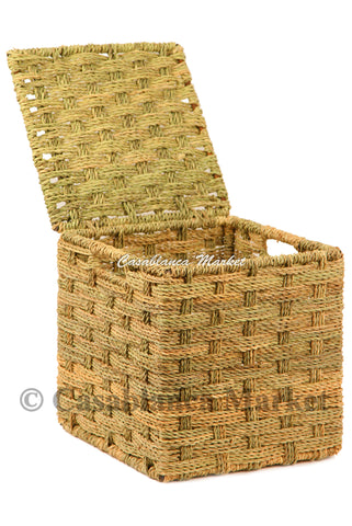 Hand-woven Storage Basket, Medium