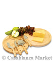 Fruit & Cheese Cutting Board with Tool Set Light