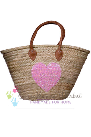 Market Heart Basket