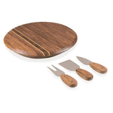 Fruit & Cheese Cutting Board with Tool Set Dark