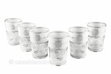 Touareg White Silver ( Set of 6)