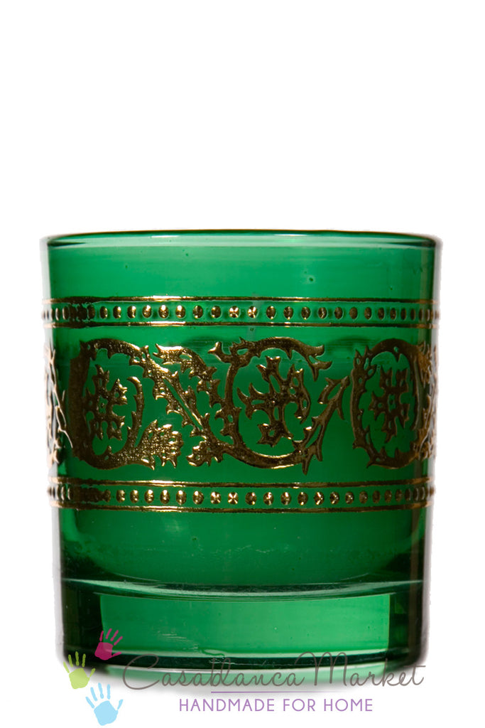 Bakara Moroccan Candle Royal Green
