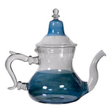 Blue Glass Moroccan Teapot