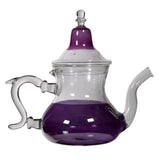 Purple Glass Teapot