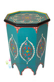 Tangier Hand-painted Side Table
