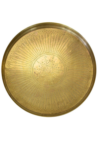 Antique Copper Tray, Mirza