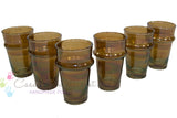 Beldi Tea Glasses, Brown (Set of 6)