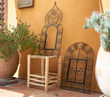The Wrought Iron Window Grill Door