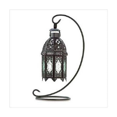 Moroccan Tabletop Hanging Lantern (LL054S)