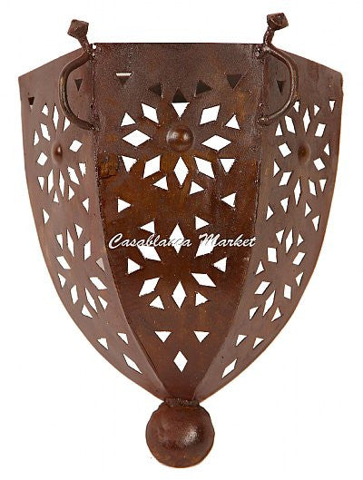 Rustic Moroccan Sconce (LL045)