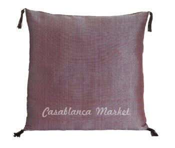 Solid Color Silk/Wool Pillow