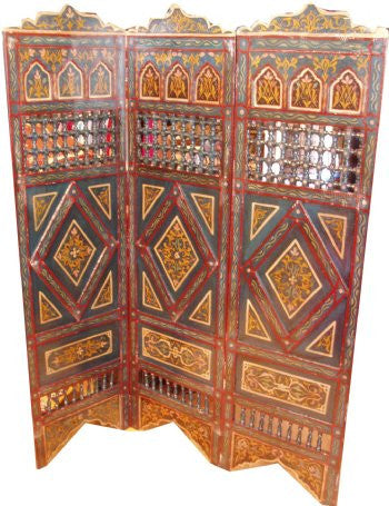 Moroccan Painted Divider