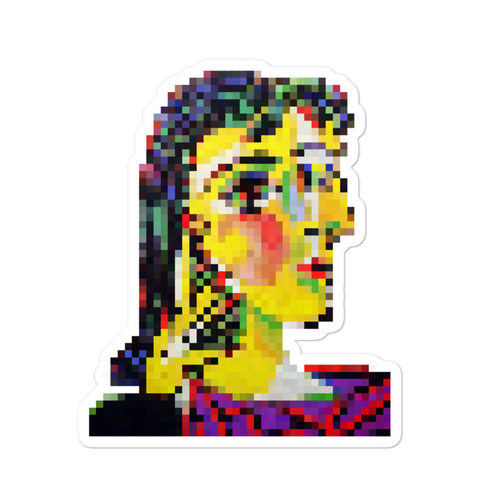 Portrait of Dora Maar Sticker