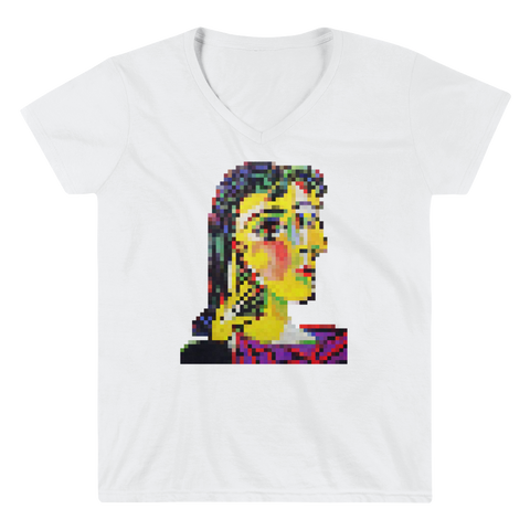 Portrait of Dora Maar V-Neck